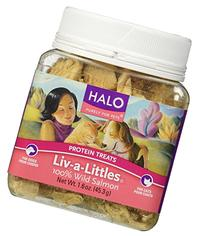 Halo Purely For Pets Liv-a-Littles Protein Treats 100% Wild