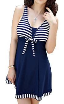 Women's Halter Shaping Body Two-Piece Swimsuit Plus Size
