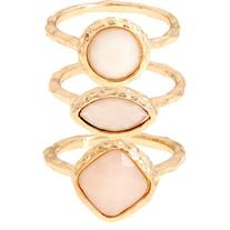 Monsoon Hammered Stacking Rings
