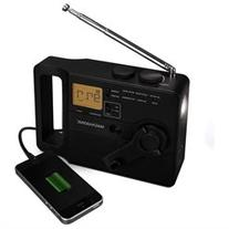Hand Crank Emergency Radio, LED Flashlight, Smartphone
