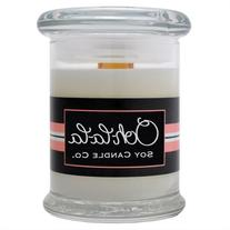 Hand-poured 8-ounce Wood Wick Scented Soy Candle Cinnamon