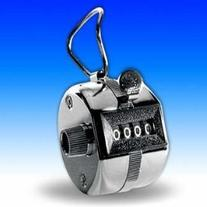 Hand Tally Counter, Metal Case