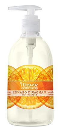Seventh Generation Hand Wash, Mandarin Orange and Grapefruit