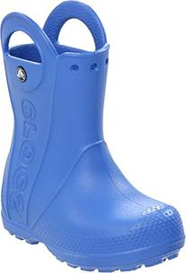 crocs Kids Handle It Rain Boot ,Sea Blue,7 M US Toddler