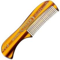 Kent - 73 mm Fine Toothed Moustache and Beard Comb Model No