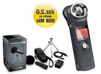 ZOOM Handy Recorder with Accessory Package H1