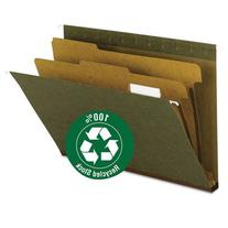 "Hanging File Folder, 2 Dividers, Letter, 2"""" Exp, 1/5 Tab,"