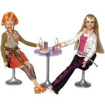 Hannah Montana Exclusive Pop Star Party Playset - Hannah and