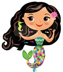 "Happy Sea Mermaid 30"" Mylar Balloon"