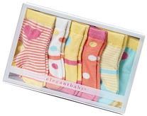 Elegant Baby Baby Girls' Happy Toes  - Sorbet Brights - 0-12