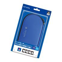 Hard Pouch for PlayStation Vita Blue  Japan Import