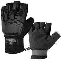 Exalt Paintball Hardshell Gloves - Hard Back Fingerless -
