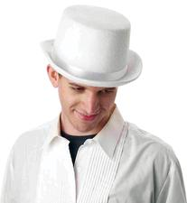 Top Hat White Deluxe Costume