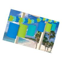 Amscan Hawaiian Summer Luau Beach Floral Paradise Flowers &