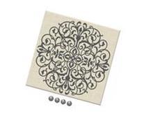 WallPops HB0527 Veranda Fabric Pin Board