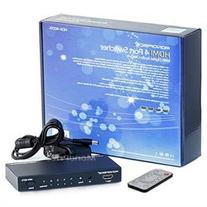 Monoprice 4X1 HDMI Switcher w/ Toslink & Digital Coaxial