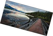 He Leadeth Me Beside the Still Waters Wood Bridge Mountain