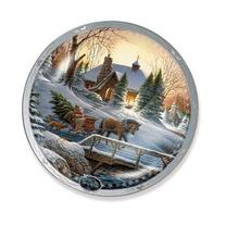 Heading Home Holiday by Terry Redlin 9.25 inch Decorative