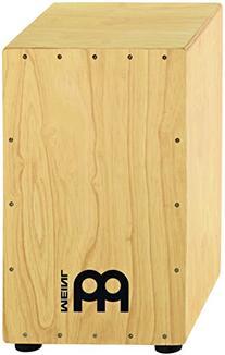 Meinl Percussion HCAJ1NT Headliner Series Rubber Wood String Cajon, Medium Size