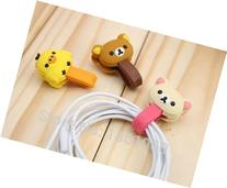 2Pcs Headphone Cable Winder Manage Organizer For iPhone 5 5s