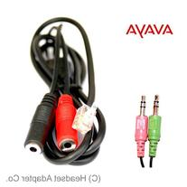 Avaya Headset Adapter: Connect a PC Headset to Avaya Phone