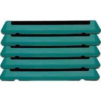 The Step Original Health Club Step Platforms  Color: Teal