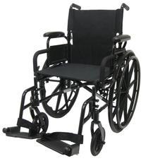Karman Healthcare 802N-DY Lightweight Wheelchair-Black