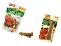 Healthy Edibles Roast Beef Dog Treat  Size: Giant