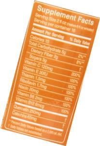 FRS Healthy Energy Liquid Concentrate, Low Cal Orange, 32-