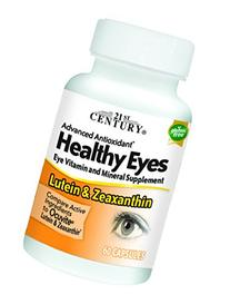 21st Century Healthy Eyes Lutein and Zeaxanthin Capsules, 60