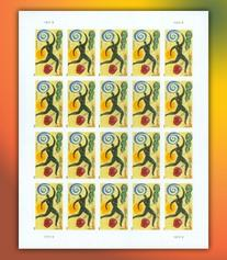 Heart Health Full Sheet of 20 x Forever U.S. Postage Stamps