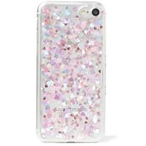 Women's Skinnydip Heart Sequin Iphone Case