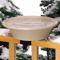 Allied Precision 14 in. Heated Bird Bath with EZ-Tilt Deck/