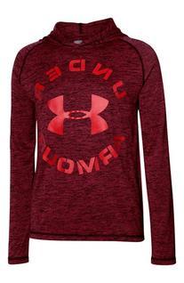 Boy's Under Armour HeatGear Hooded Running T-Shirt, Size M