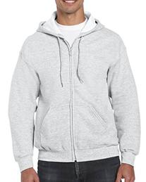 Gildan mens Heavy Blend 8 oz. 50/50 Full-Zip Hood-ASH-S