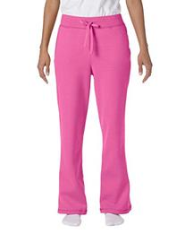 Ladies' Heavy Blend Yoga Style Sweatpants,Small,Azalea