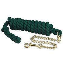 Heavy Cotton Lead w/ Chain Green
