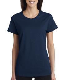 Gildan mens Heavy Cotton 5.3 oz. T-Shirt-NAVY-3XL