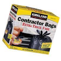 Kirkland Signature Contractor Bags Smart Tie, 3 ml- 42 gal