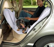 Bergan Heavy-Duty Back Seat Hammock Protector, Gray