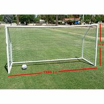 Workoutz 12x6 Heavy Duty  Portable Soccer Goal with Carry