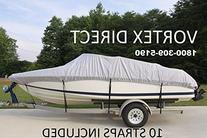 VORTEX HEAVY DUTY VHULL FISH SKI RUNABOUT COVER FOR 14 15 16