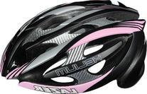 Lazer Helium Helmet: Pink/Black/Silver; 2XS/SM