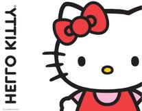 Hello Kitty Classic White Kindle Fire Skin