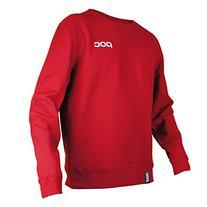 POC Crew Neck Skateboarding Hoodie, Bohrium Red, XX-Large