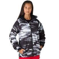 Ride Hemi Kids Snowboard Jacket Chalk Print 2013 - Large