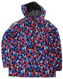 Ride Hemi Snowboard Jacket Geo Print Youth Sz XS