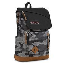 JanSport HENSLEY Backpack - GREY DENIM CAMO JACQUARD - Mens