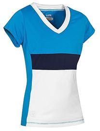 Fila Heritage Cap Sleeve Shirt, Methyl Blue / White /