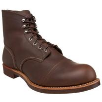 Red Wing Heritage Iron Ranger 6-Inch Boot, Amber Harness, 7.
